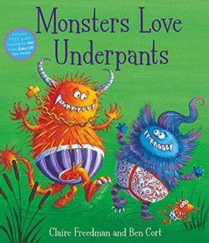 Monsters Love Underpants Pa