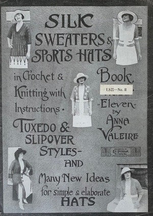 Anne Valerie Silk Sweaters & Sports Hats No. 11