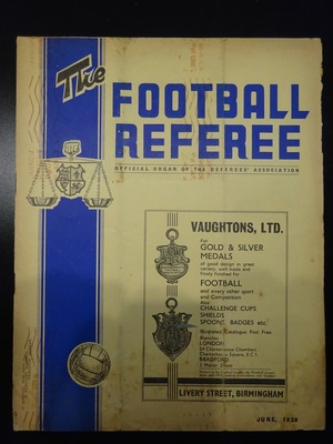Football Referee - 1938-06 - June, The