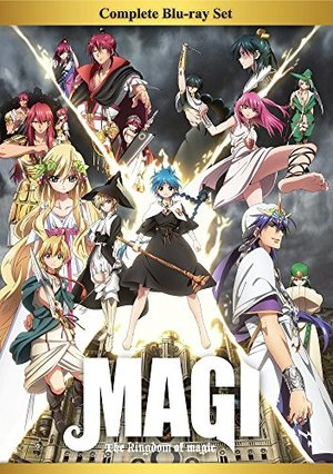 Magi: The Kingdom of Magic Complete Blu-ray Box Set