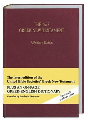 UBS Greek New Testament, The