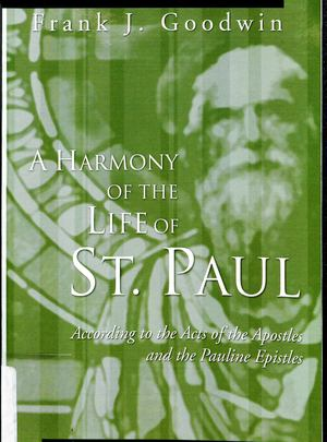 Harmony of the Life of St. Paul, A