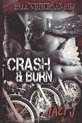 Crash & Burn (The Hell's Disciples MC) (Volume 2)
