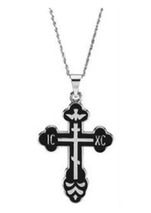 Crosses - St. Xenia Cross with chain