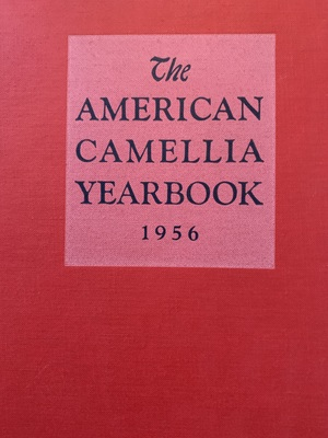 American Camellia Yearbook 1956