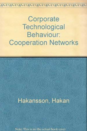 Corporate Technological Behaviour: Cooperation Networks