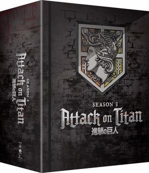 Attack on Titan: Season 3 - Part 1 (Limited Edition Blu-ray/DVD Combo)