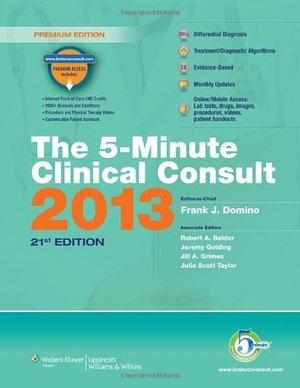 5-Minute Clinical Consult 2013,The