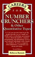 Careers for Number Crunchers & Other Quantitative Types, Second Edition