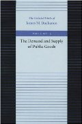 Demand and Supply of Public Goods, The