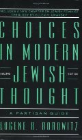 Choices in Modern Jewish Thought: A Partisan Guide