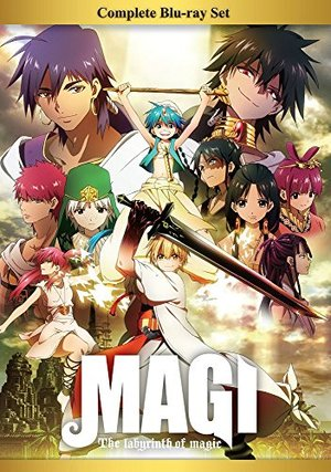 Magi: The Labyrinth of Magic Complete Blu-ray Box Set