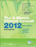 5 minute clinical consult 2012, the