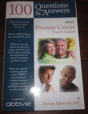 100 Questions & Answers About Prostate Cancer Fourth Edition