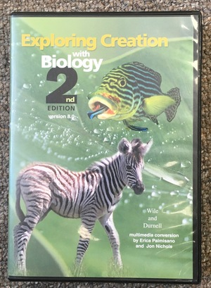 CD Course: Exploring Creation with Biology 2nd Edition
