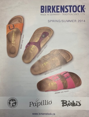 Birkenstock Catalogue Spring/Summer 2014