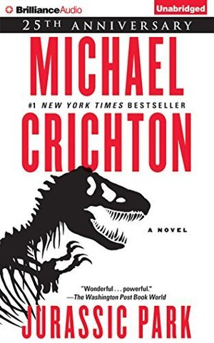 By Michael Crichton - Jurassic Park: A Novel (Anv Una) (2015-05-27) [Audio CD]