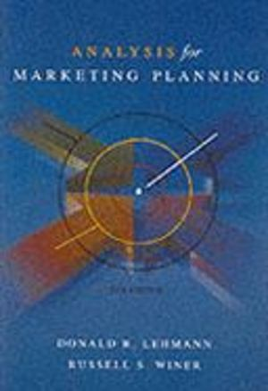 Analysis for Market Planning