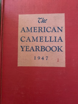 American Camellia Yearbook 1947