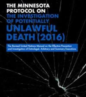 Minnesota protocol on the investigation of potentially unlawful death