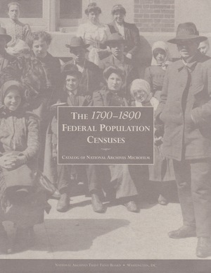 1790-1890 Federal Population Census