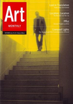 Art Monthly 281: November 2004