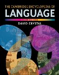 Cambridge encyclopedia of language (3rd edition), The