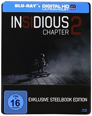Insidious Chapter 2 Exklusive Steelbook Edition Blu-Ray