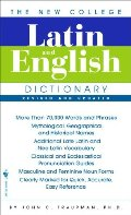 Bantam New College Latin & English Dictionary (English and Latin Edition), The