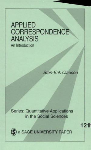 Applied Correspondence Analysis