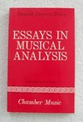 Essays in Musical Analysis / Supplementary: Chamber Music