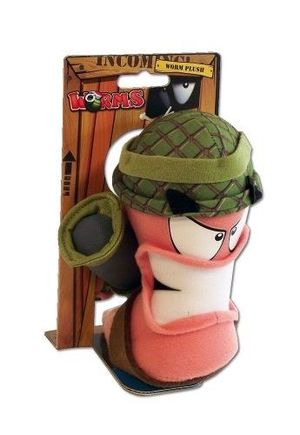 Worms Army Medium Plush