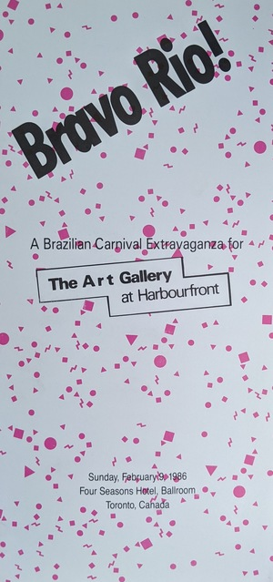 Bravo Rio! A Brazilian Carnival Extravaganza for The Art Gallery at Harbourfront