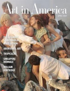 Art In America Magazine (April 2007) #4, Eve Sussman