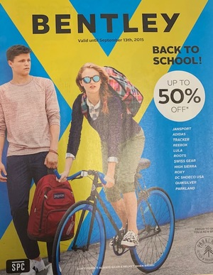 Bentley Back to School Catalogue 2015