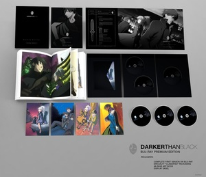 Darker Than Black: Complete First Season Premium Edition (Blu-ray)