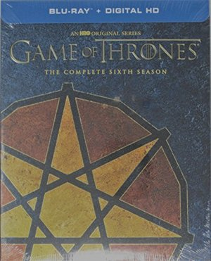 Game of Thrones: Season 6 Seven Pointed Star Limited Edition Sigil Packaging (Blu-Ray+Digital HD)