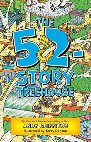 52-Story Treehouse (The Treehouse Books), The