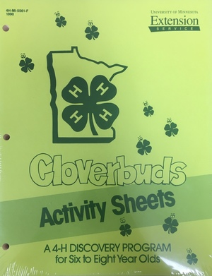 Cloverbuds: Discovery Guide & Activity Sheets