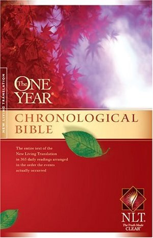 One Year Chronological Bible NLT (One Year Bible: Nlt), The