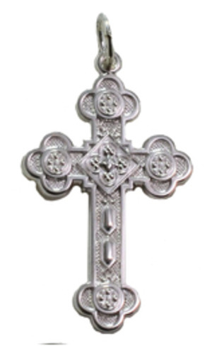 Crosses - Antiochia Cross, sterling silver, medium