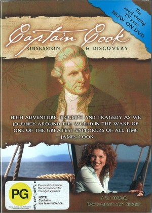 Captain Cook - Obsession and Discovery (DVD)