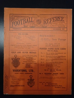 Football Referee - 1937-12 - December, The