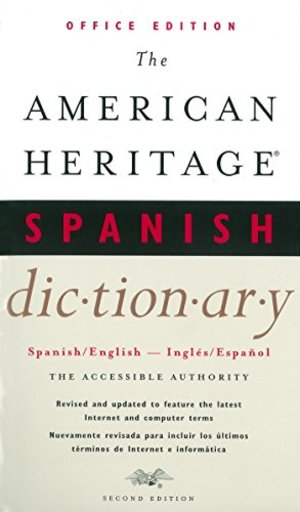 American Heritage Spanish Dictionary - Office Edition (2nd Edition)