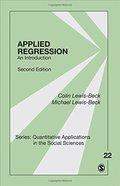 Applied Regression: An Introduction (Quantitative Applications in the Social Sciences)