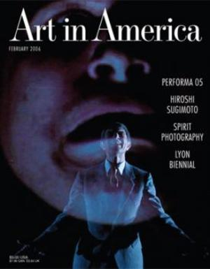 Art In America Magazine (February 2006) #2, Jesper Just