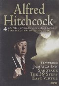 Alfred Hitchcock:Jamaica Inn, Sabotage, The 39 Steps, Easy Virtue