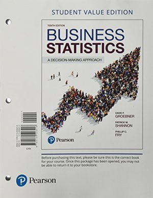 Business Statistics 10th Edition
