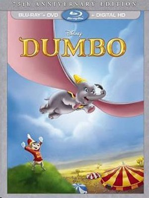 Disney's Dumbo 75th Anniversary Bluray/DVD