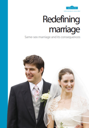 Redefining Marriage: Same-Sex Marriage and its Consequences